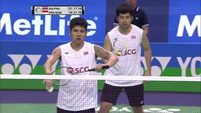 [Six Great Points Shots] 2016 YONEX French Open SF [MD] Bodin ISARA-Nipitphon PHUANGPHUAPET (F.G2 16-19 to 21-19).mp4