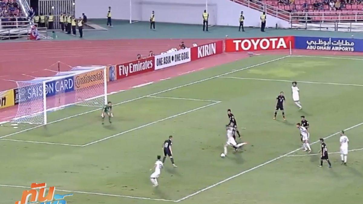 """""""ช้างศึกไทย"""" ต้านไม่ไหว พ่ายอิรักคารัง 1-2"""