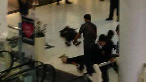 สลด! หนุ่มบุกยิงสาว กลางเซ็นทรัลรัตนาธิเบศร์ ก่อนยิงตัวตายตาม