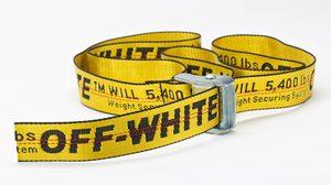 Off-White Industrial Belt เข็มขัดคอลเลคชั่นใหม่วางจำหน่ายแล้ว ราคาเริ่มต้น 5,000 บาท