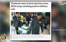 เว็บข่าวต่างประเทศให้ความสำคัญการเลือกตั้งประเทศไทย