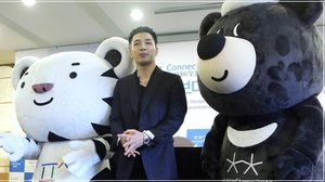 แทยัง BIGBANG เข้าพิธีแต่งตั้ง 'ทูตกิตติมศักดิ์โอลิมปิกฤดูหนาว 2018'