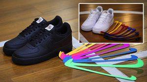 Nike เปิดตัว Air Force 1 รุ่นพิเศษ สามารถเปลี่ยน Swoosh หลากสีสันได้ตามใจชอบ
