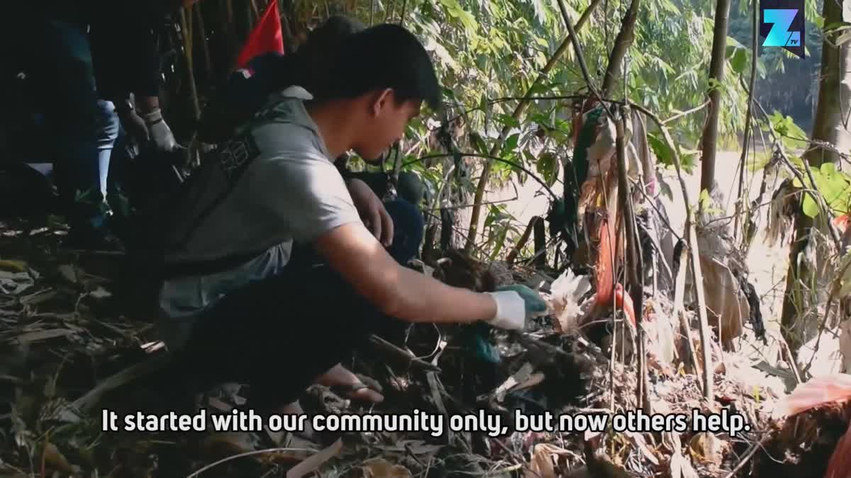 The volunteers cleaning the world's most polluted river