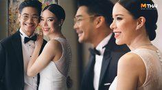 ใจตรงกัน เนม-ป้อ จัดงานแต่งธีม Rainforest กับ ชุดเจ้าสาวเรียบหรู จากแบรนด์ไทย