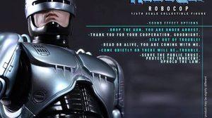 Hot toys คืนชีพ ตำรวจเหล็ก Robocop ทำจาก Diecast พร้อมเสียง SFX
