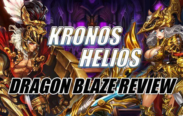 รีวิวเกม Dragon Blaze กิกันเตสผู้ร้อนแรงที่สุด โครนอสและเฮลิออส