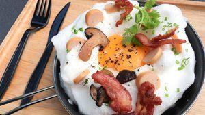 ไข่กระทะ เมนูอาหารเช้า ที่ทำเองได้ง่าย ๆ