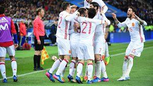 ผลบอล : ภาพช้าช่วยได้เยอะ!! สเปน ฟอร์มเฉียบบุกเชือด ฝรั่งเศส 2-0 อุ่นเครื่องทีมชาติ