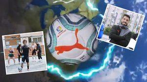 สุดเฟี้ยว! 'กรีซมันน์-ซัวเรซ' นำทัพเปิดตัวลูกบอลใหม่ที่จะใช้ในศึก ลาลีกา ฤดูกาลนี้ (คลิป)