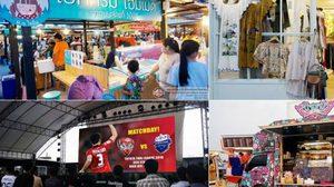 """ช้อป ชิม ชิล! """"ตลาดนัดมะลิ"""" ตลาดนัดกลางคืน ใหญ่ที่สุดในเมืองทองธานี"""