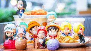 ตามล่าให้ครบ!! โมเดล One Piece สุดคิวต์ จาก McDonald's