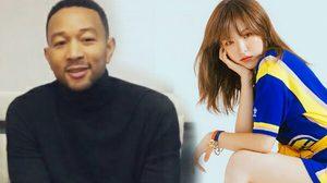 """John Legend เตรียมร่วมงาน เวนดี้ Red Velvet ในเพลง """"Written in the Stars"""""""