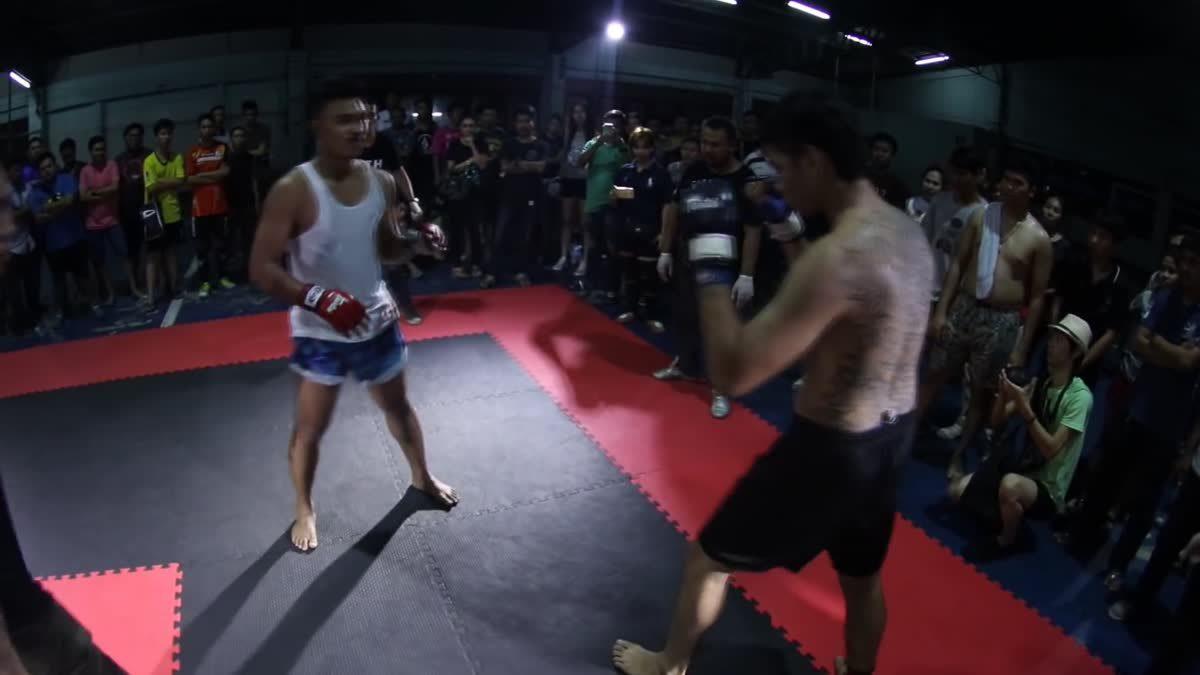 Fight Club Thailand ใต้ดิน นนท์เสือยิ้ม x เสือเล็ก คู่ที่ 115