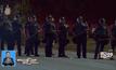 ประท้วงตำรวจยิงชายผิวสีในสหรัฐฯ