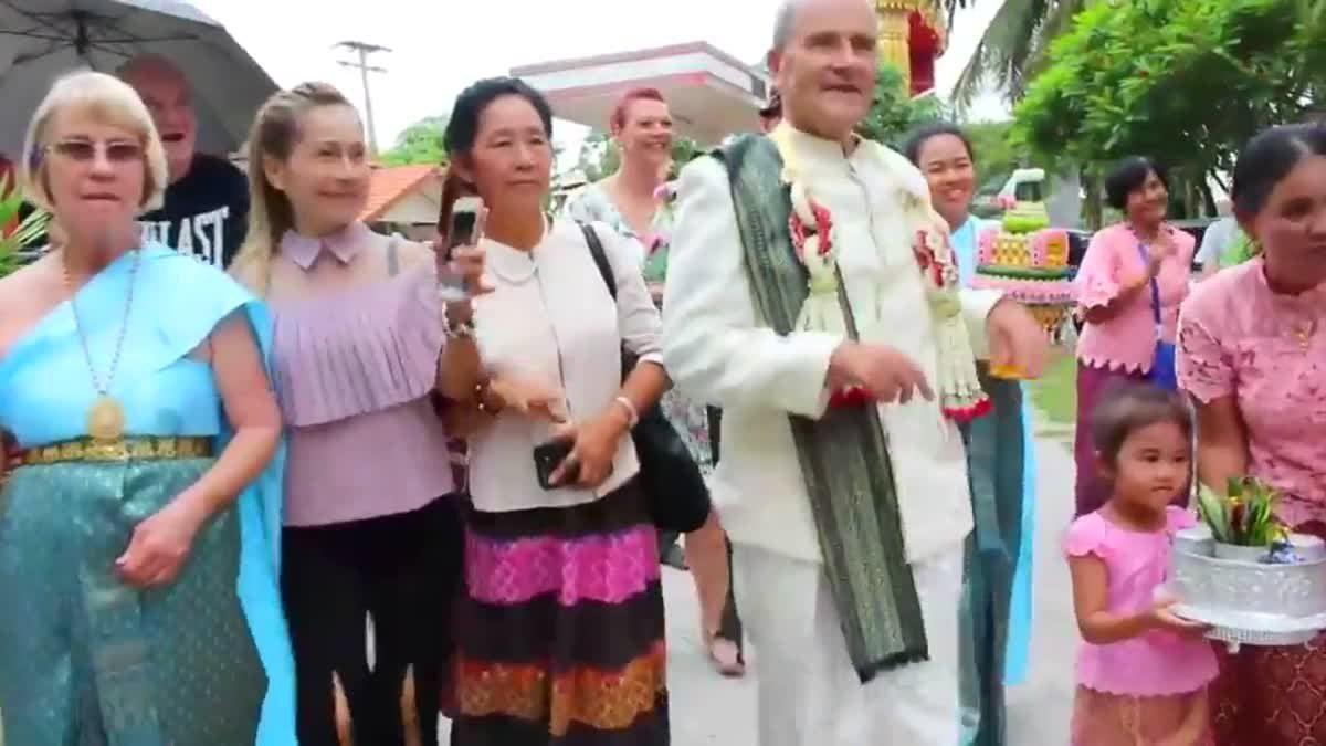 ฮือฮา! เฒ่าไอริชหอบสินสอดนับล้านขอหนุ่มไทยแต่งงาน