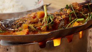 สูตร แกงส้มแป๊ะซะปลาช่อน หม้อไฟร้อนๆ พร้อมผักแน่นๆ