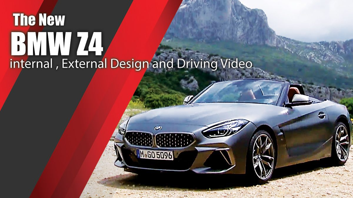 The new BMW Z4 - internal , External Design and Driving Video