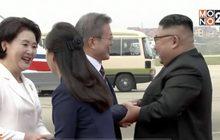 ผู้นำเกาหลีเหนือต้อนรับผู้นำเกาหลีใต้ก่อนประชุม 2 สุดยอดผู้นำ
