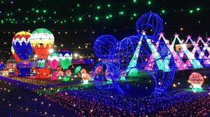 เริงร่ากับแสงไฟ LED นับล้าน ในงาน Night of Lights ที่ ตลาดนกฮูก เลี่ยงเมืองนนท์