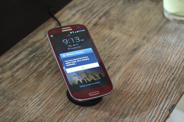 wireless charging Samsung Galaxy SIII