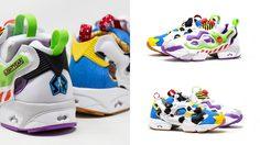 วู้ดดี้และบัซถูกใจสิ่งนี้ Reebok x Toy Story รองเท้าลายตัวการ์ตูนที่คุ้นเคย
