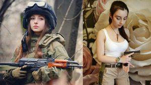 เป็นคนจริงจัง! Elena Deligoiz สาวรัสเซียคอสเพลย์สายทหาร ทำเอาหนุ่มทั่วโลกคลั่งใคล้อย่างหนัก