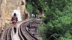ย้อนอดีต… เที่ยวตามรอย ทางรถไฟสายมรณะ ที่กาญจนบุรี