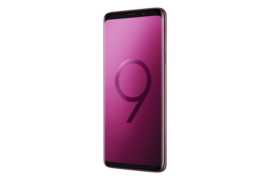 Galaxy S9+ สีแดง