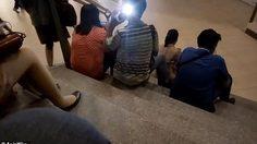 หนุ่ม ฟิลิปปินส์ ทำเนียนแอบถ่ายใต้กระโปรงผู้หญิง แต่แผนพังเพราะลืมปิดแฟลช!!