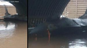 ทัพอากาศอิสราเอลพลาด น้ำท่วม F-16 เสียหาย