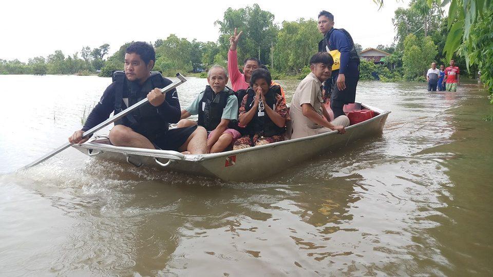 เกาะติดสถานการณ์ น้ำท่วม – น้ำป่าไหลหลาก