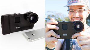 Hand-held Video Rig เพิ่มการถ่ายวิดีโอในไอโฟนให้เทียบเท่ากับกล้องราคาแพง