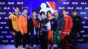 ฟินขั้นสุด! หนุ่มหล่อ 9×9 ร่วมเดินแฟชั่นโชว์ ในงาน MLB Flagship Store Grand Opening