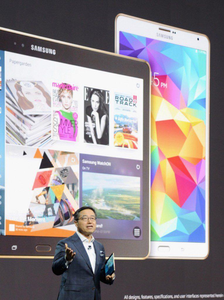 Samsung introduced Galaxy Tab S at Galaxy Premier 2014 (5)