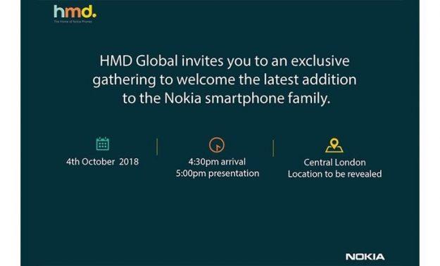 HMD เชิญร่วมงานเปิดตัวโนเกียรุ่นใหม่ คาดเป็น Nokia 7.1 Plus