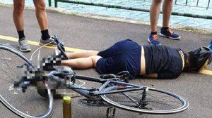 ตัวเงินตัวทอง พลาดท่าวิ่งตัดหน้ารถจักรยาน จนตายคาที่!!