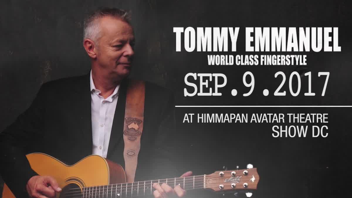 ไม่ควรพลาด! Tommy Emmanuel ประกาศจัดคอนเสิร์ตในเมืองไทย