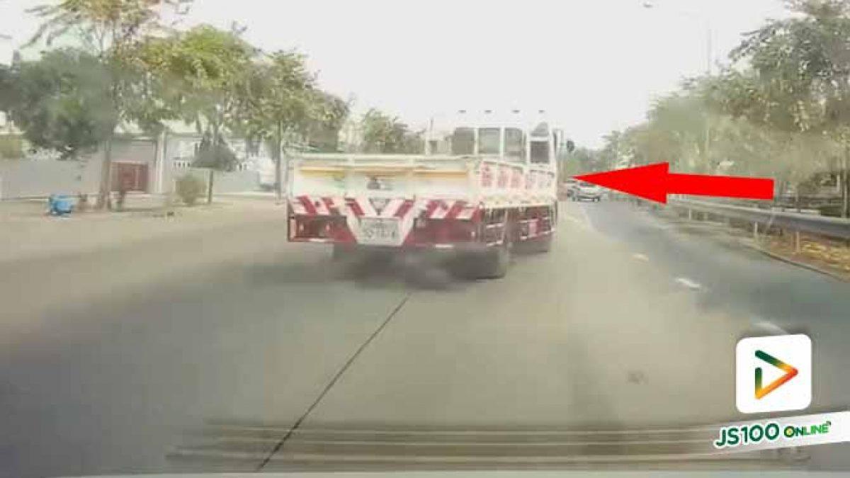ขับแบบนี้ใช้ได้เหรอ?? แล้วเจ็บใจสุดตรงที่คนในรถขำและยิ้มกัน (27/01/2021)