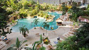 สวนน้ำจำลอง สวนน้ำในร่ม Tropical Islands Resort เยอรมนี