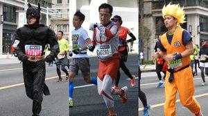 เพราะนี่คือญี่ปุ่น! ส่องชุดวิ่ง งาน Tokyo Marathon คอสเพลย์มาวิ่งกันเพียบ