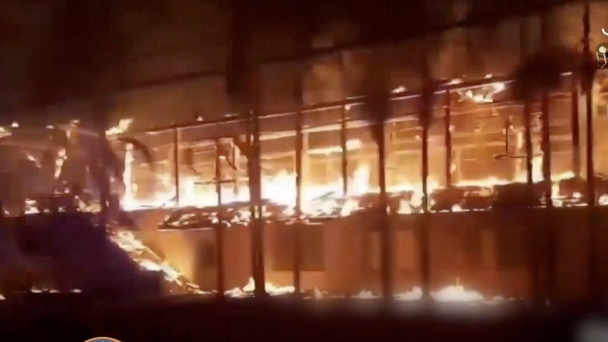 ไฟไหม้โรงนอนกรมทหารราบที่ 11