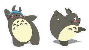 ภาพชุด ออกกำลังกายกับ Totoro กันเถอะ