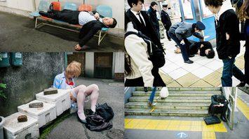 รวมภาพเหล่าซาลารี่แมนนักดื่มชาวญี่ปุ่นในวันที่ภาพตัด โดยช่างภาพฝีมือดี Lee Chapman