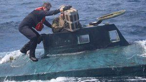 แก๊งค้ายาแสบ ใช้เรือดำน้ำลอบขนโคเคนเข้าสหรัฐ !! ไม่รอดถูกสกัดทัน