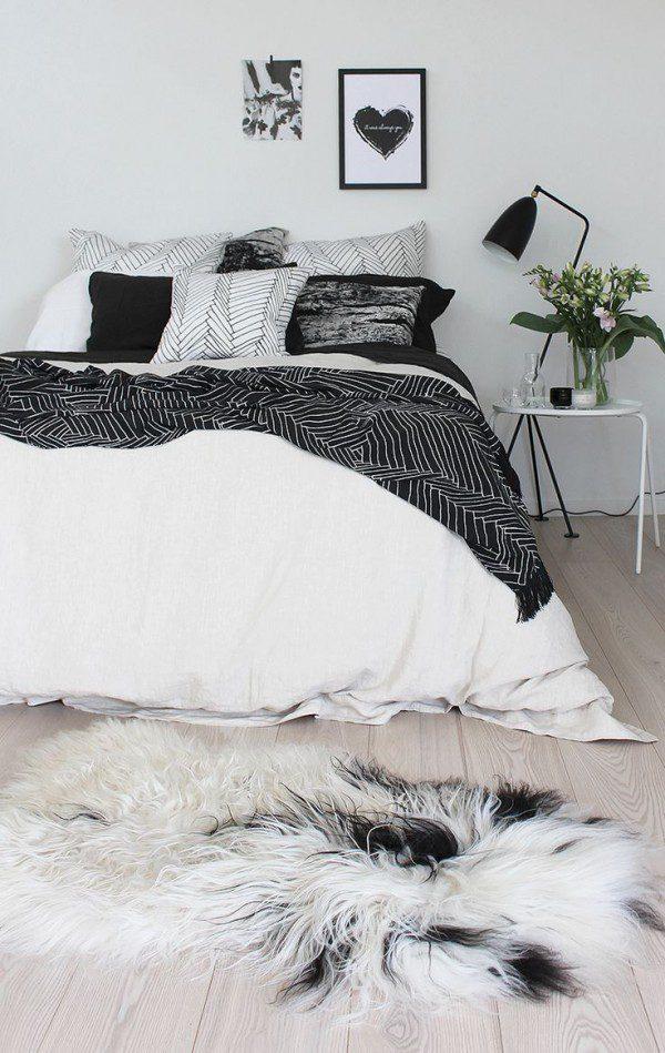 swedish-bedroom-with-modern-bedding