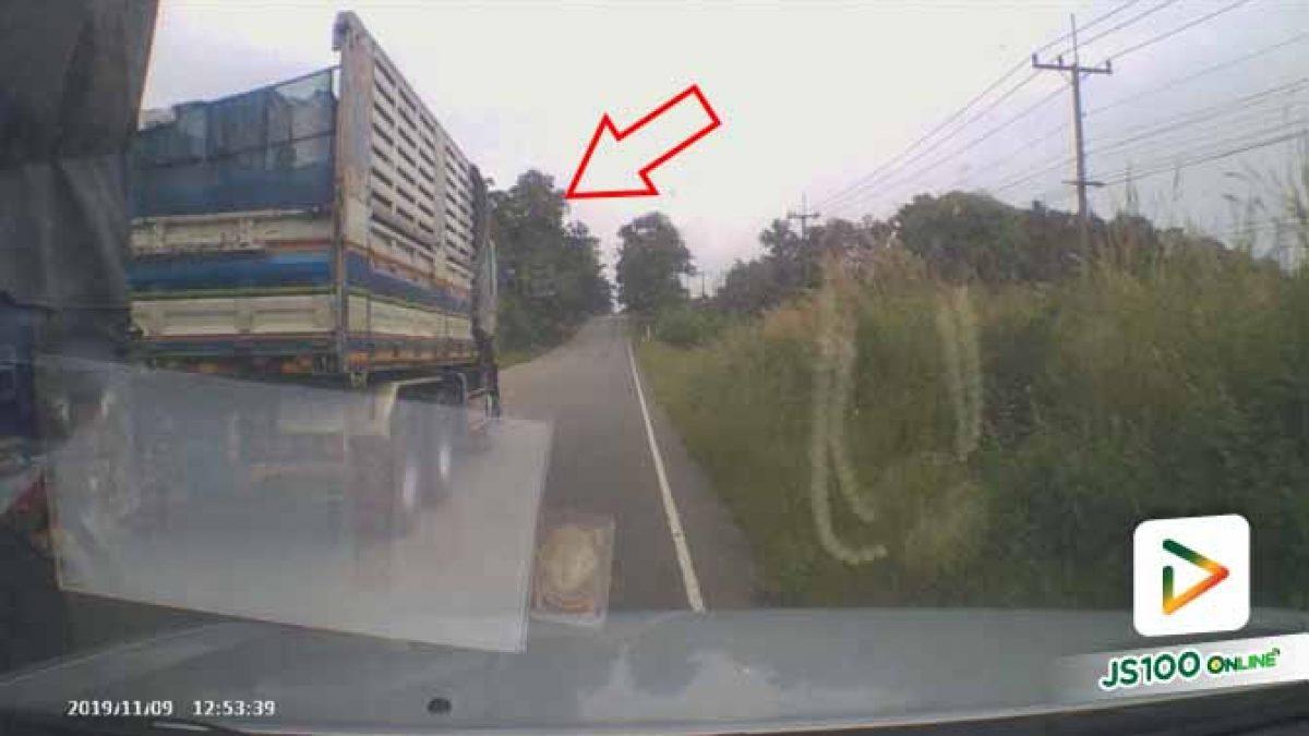 อย่าขับรถบนความประมาท ถ้าไม่อยากเจ็บตัวแบบนี้ (09/11/2019)