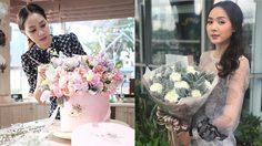 สวยเพอร์เฟกต์! โฟร์ ศกลรัตน์ กับบทบาท เจ้าของร้านดอกไม้ morningglory_byfour