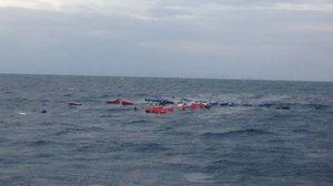 ระทึก เรือบรรทุกสินค้าล่ม กลางทะเลอันดามัน กัปตัน-ลูกเรือ รอด!!