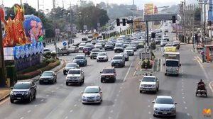 ปชช.ทยอยขึ้นภาคเหนือ 'สะพานเดชาติวงศ์' ปริมาณรถเริ่มหนาแน่น